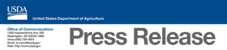 USDA Press release logo
