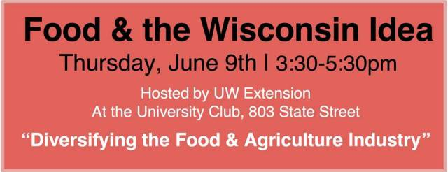 food and wisco idea
